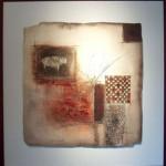 Aube Lumineuse, Ceramic, 36 x 36 in.